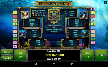 Lord of the Ocean™ Slot 1.1 screenshot 1095699