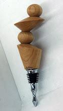 Photo: A very funky bottle stopper.