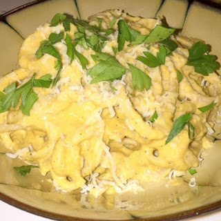 Homemade Pasta & Pumpkin Ricotta Cream Sauce and Benefits of Pumpkin