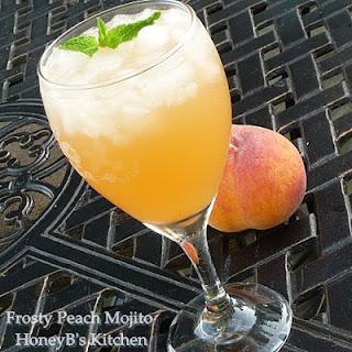 Frosty Cook Peach Mojito Recipe