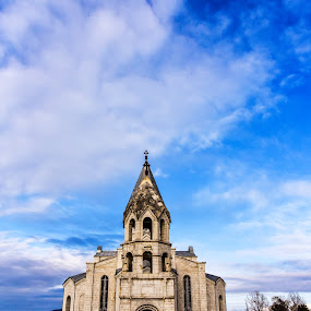 Ghazanchetsots Cathedral  by Anto Boyadjian - Buildings & Architecture Places of Worship ( sky, church, cathedral, beauty )