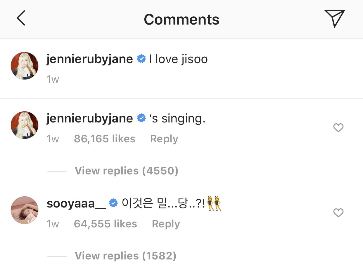 jennie_i love jisoo....'s singing_