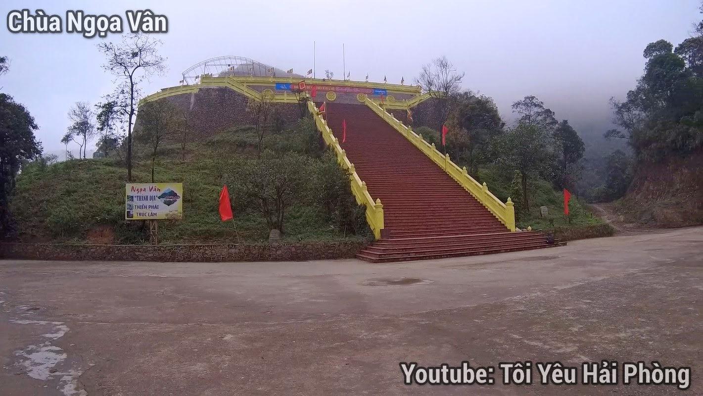 Khám phá Chùa Ngọa Vân (Quảng Ninh) Miền đất Phật 4