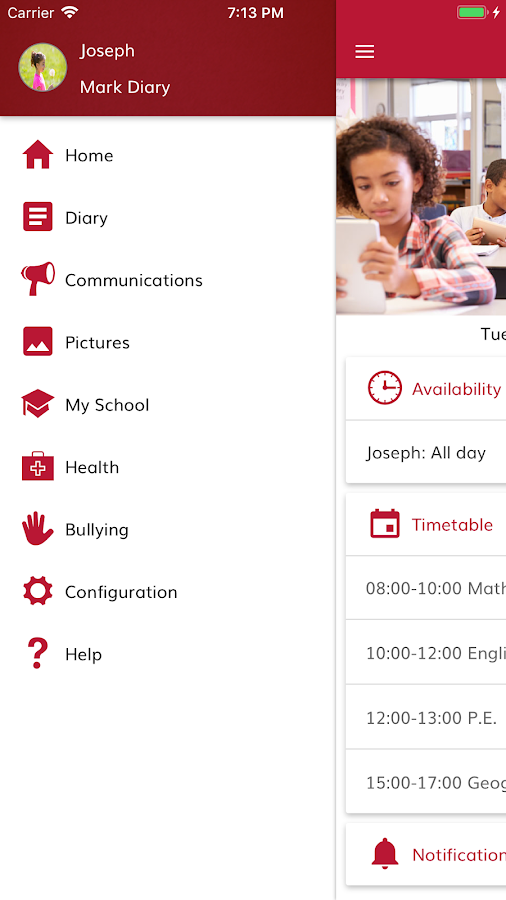 School On- screenshot