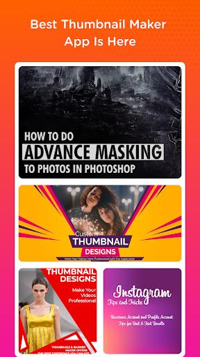 Thumbnail Maker - Create Banners, Covers & Logos 9.6 screenshots 1
