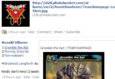 Team Rampage Facebook Toolkit
