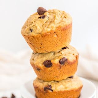 Healthy Banana Peanut Butter Muffins