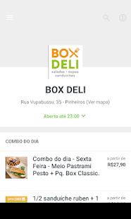Box Deli - náhled