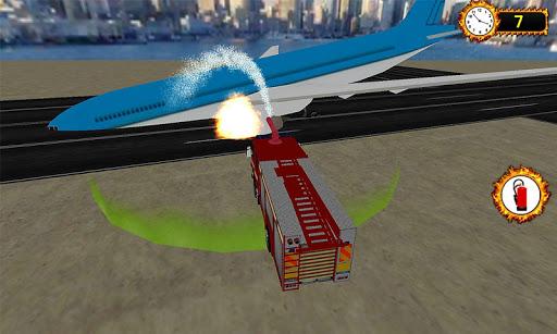 空港緊急クラッシュレスキュー