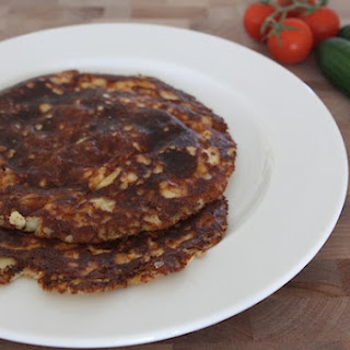 Cottage Cheese Pancakes, Low Carb and Gluten Free.