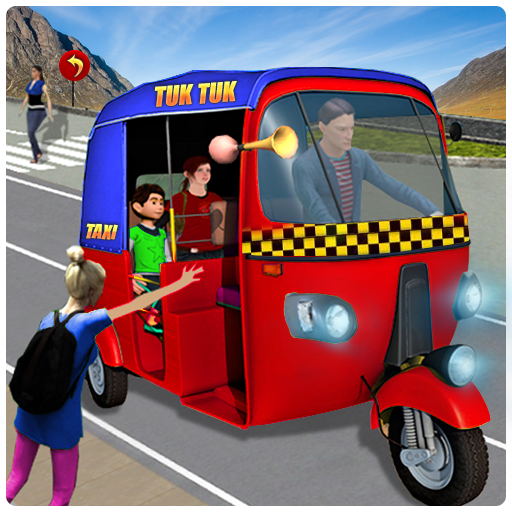 Modern TukTuk Offroad Auto Rickshaw Drive