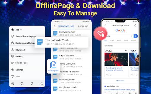 Screenshot for Web Browser & Fast Explorer in Hong Kong Play Store