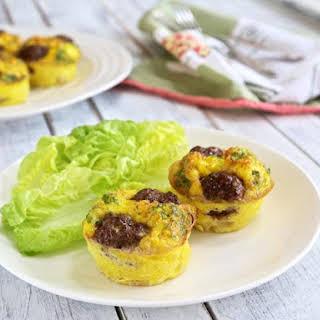 Reuben Egg Muffins – Low Carb, Gluten Free.