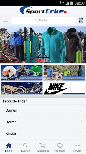 Shop Sport Ecke