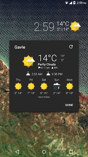 Weather Icons Geo for Chronus