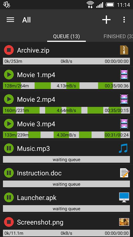 Advanced Download Manager Pro- screenshot