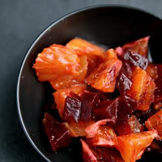 Blood Orange & Beetroot Salsa With Pan-fried Salmon