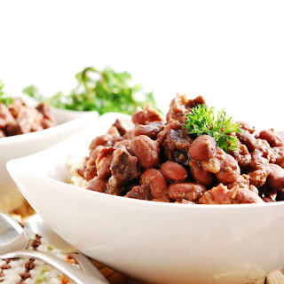Instant Pot Gluten-free Red Beans & Rice (Gluten, dairy, egg, peanut & tree nut free; meatless option).