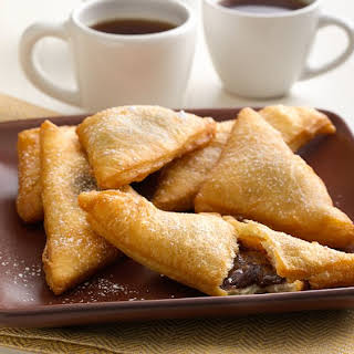 Chocolate-Caramel Crescent Sopapillas.