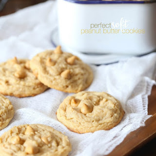 The Perfect Soft Peanut Butter Cookie.