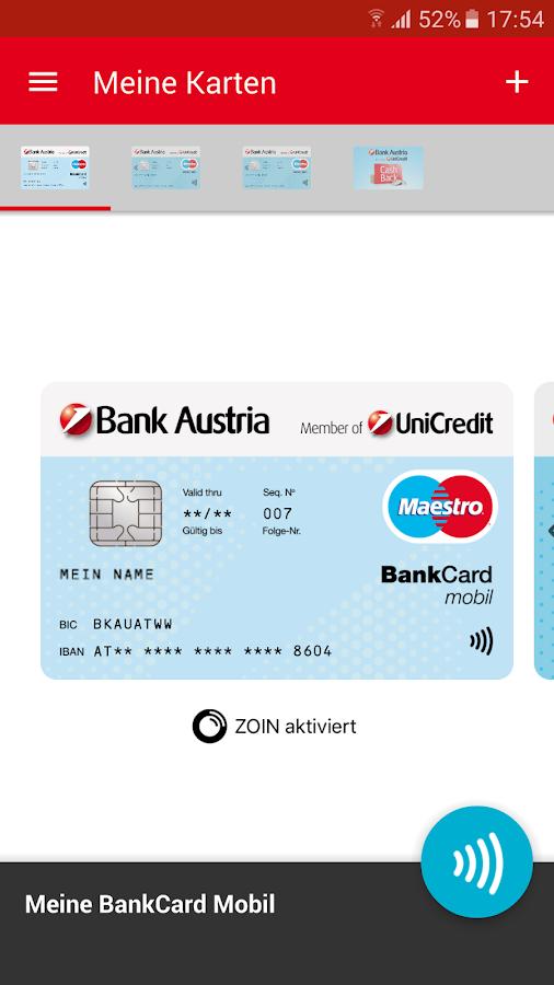 bank austria mobile geldb rse android apps on google play. Black Bedroom Furniture Sets. Home Design Ideas