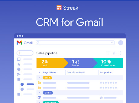 Streak CRM for Gmail