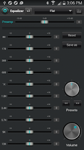 jetAudio Music Player+EQ Plus v7.3.0 Black Design