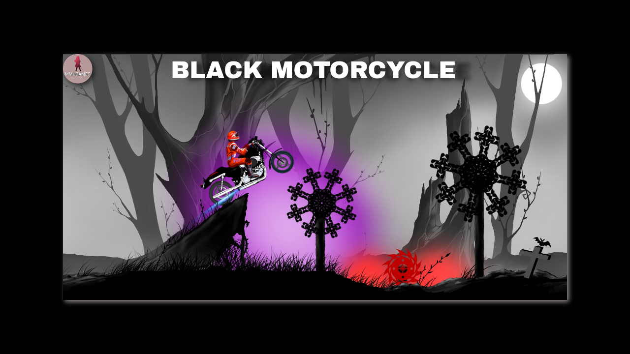 Black motorcycle- screenshot