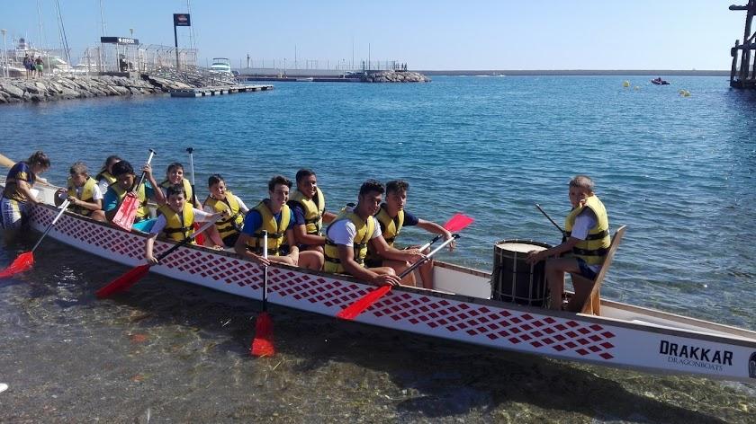 Actividades náuticas para los Guerreros Urcitanos