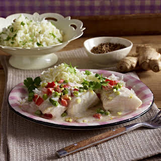 Fish in Ginger Coconut Sauce.