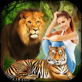 Wild Animal Photo Editor Hd Jungle Photo Frames
