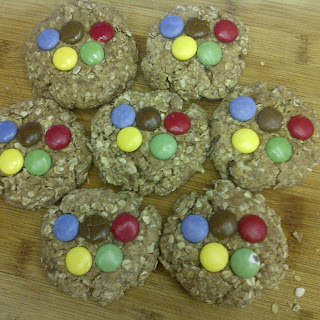 Sochi Olympic Oatmeal Cookies (vegan)