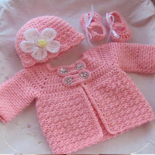 Beautiful Cute Baby Crochet Cardigan