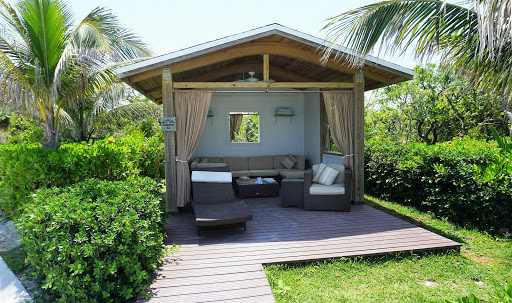Great-Stirrup-Cabana-3.jpg - A cabana, available for an extra fee, at Great Stirrup Cay in the Bahamas, the private island run by Norwegian.