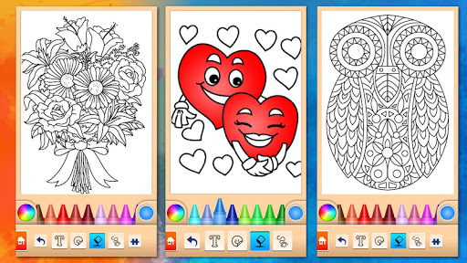 Girls games: Painting and coloring screenshots 15