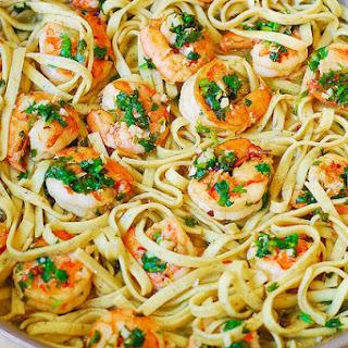 Super Tasty And Quick Shrimp Pasta