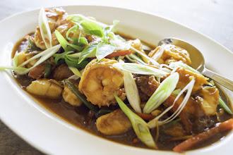 Photo: Stir fried prawns