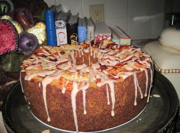 Apple Pound Cake By Rose