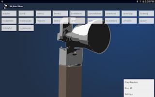 Screenshot of Air Raid Siren