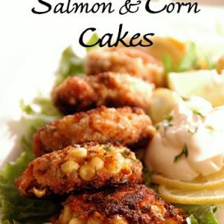Salmon & Corn Cake.
