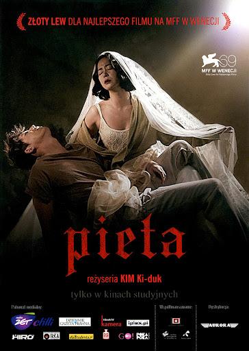 Przód ulotki filmu 'Pieta'