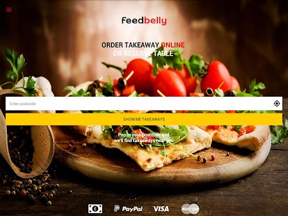 feedbelly - takeaway delivery- screenshot thumbnail
