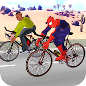 Superhero City Cycle Racing 2017