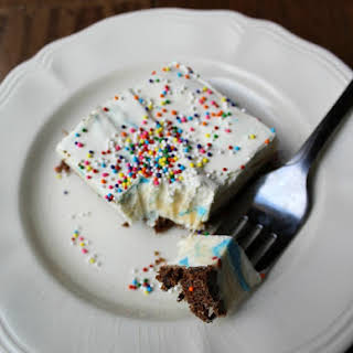 Birthday Ice Cream Dessert.