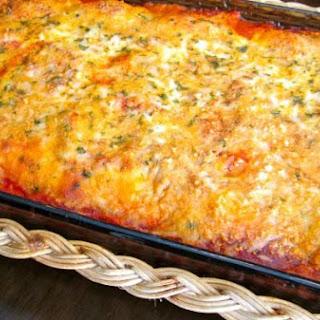 Cheese Ravioli Lasagna.