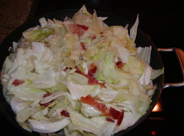 Fried Cabbage With A Twist