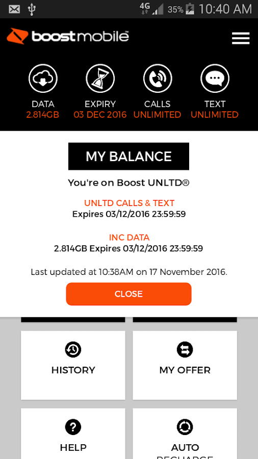 Boost Mobile- screenshot
