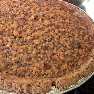 Paleo Maple Walnut Pie