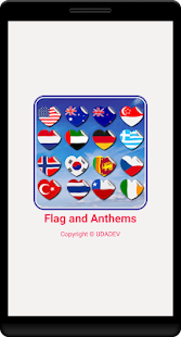 Flags and  National Anthems Song Screenshot