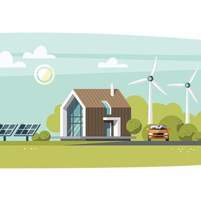 ENERGIE - stroomvoorspeller voor zonne- en windenergie